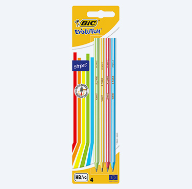 BIC EVOLUTION STRIPES