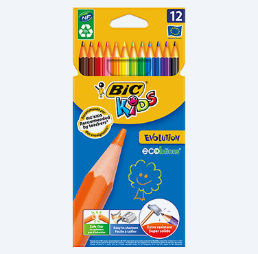 BIC KIDS EVOLUTION ECOLUTIONS® 12